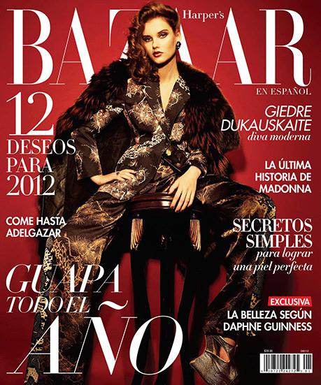 Harpers Bazaar Latino-Giedre-Dukauskaite